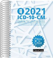 ChiroCode ICD-10-CM Coding for 2021