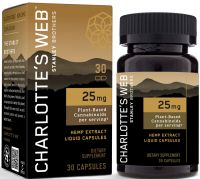 Charlotte's Web™ 25mg CBD Oil Liquid Capsules