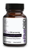 +PlusCBD™ Softgels Maximum Strength Formula