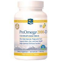Nordic Naturals® ProOmega® 2000-D Dietary Supplements