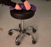 Oakworks® Fitted Stool Cover(Color shipped is based on availability)