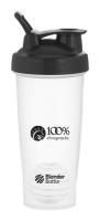 100% Chiropractic Blender Bottle Classic 28oz