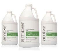 Amber Green Mint Hand Sanitizer - 64 oz - Case pack of 6