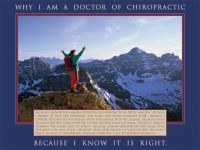 "Why I Am a Doctor Poster Laminated 18"" x 24"""