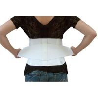 "2-In-1 Back Support Belt - Lumbar Support Belt with Removable 3"" Duo-Tension Elastic Straps"