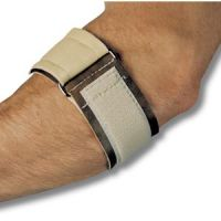 Vinyl Padded Tennis Elbow Wrap With Loop