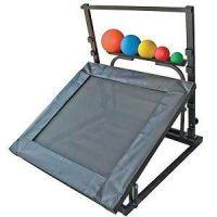 Adjustable Rebounder Set with Handle, Balls & Rack