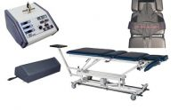Complete Lumbar Traction System - Hi-Low Traction Table Package