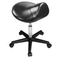 Master® Massage Equipment Ergonomic Swivel Saddle Stool