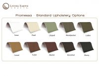 Living Earth Crafts® Ultraleather® or Promessa® Upholstery Upgrade for 5th Avenue and Mystia Pedicure Chair