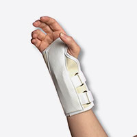 Scott Specialities Canvas Cock-Up Wrist Splint