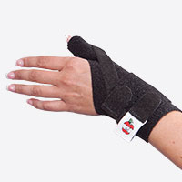Bilateral Thumb Spica Support