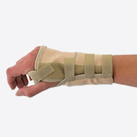 Elastic Wrist Braces With Removable Metal Splint