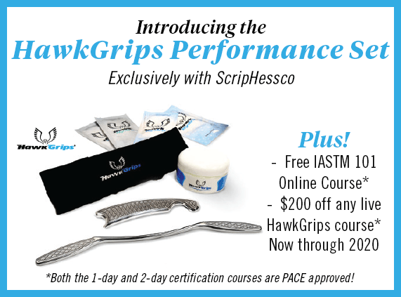 HawkGrips Performance Exclusively with ScripHessco