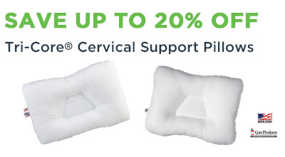 TriCore Cervical Pillows