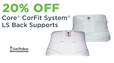 CorFit System LS Back Supports