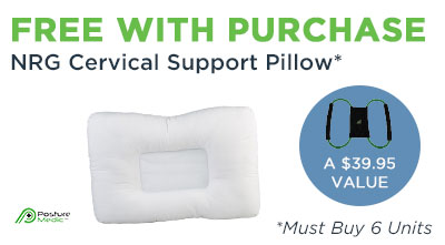 Posture Medic Sale NRG Pillows