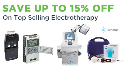 15 Off on Richmar Electrotherapy