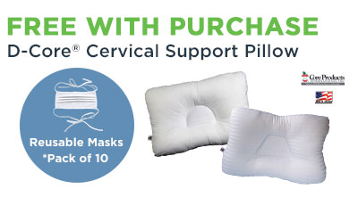 D-core Pillow with Masks