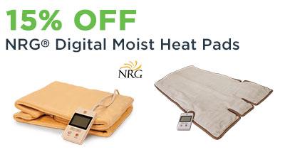 NRG Digital Moist Heat Pads