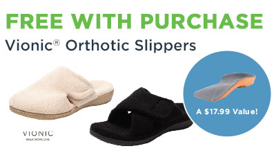 Vionic Orthopedic Slipper