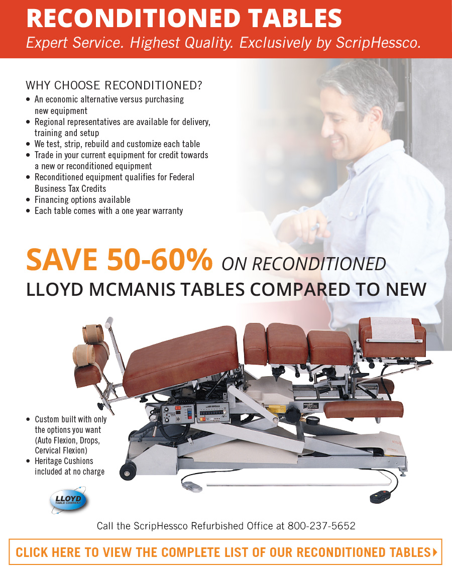 RECONDITIONED TABLES